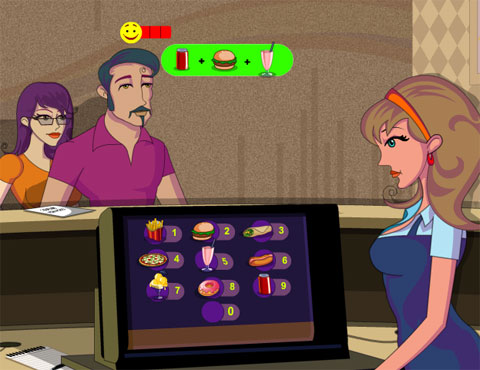 Fast Food Delivery Flash Game