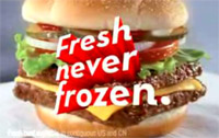 fast food news wendy s never frozen claims justified