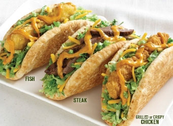 Fast food news jack 39 s pita snacks for Jack in the box fish
